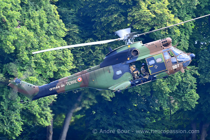 French Army Aviation (ALAT) SA330 Puma helicopter