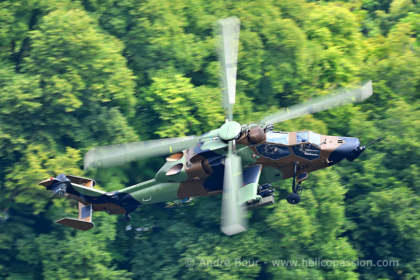 French Army Aviation (ALAT) EC665 Tiger HAD attack helicopter