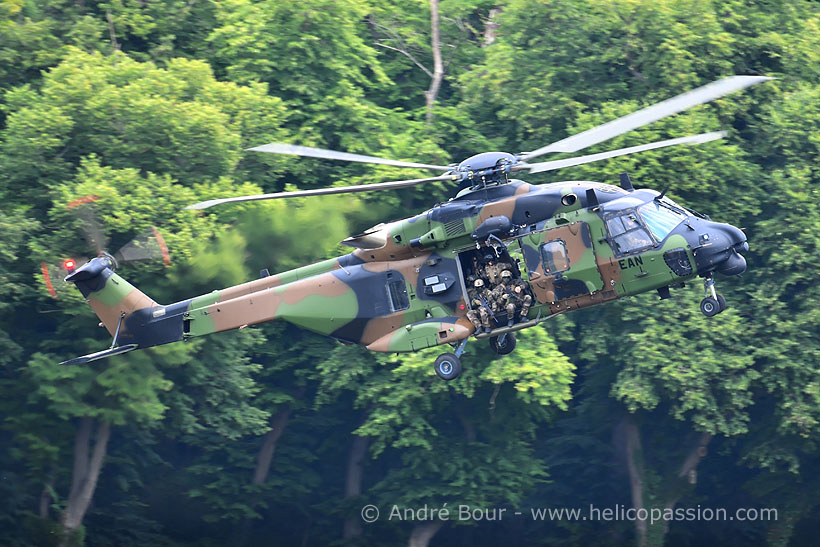 French Army Aviation (ALAT) NH90 Caïman helicopter