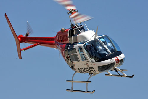 BELL 206 - Los Angeles Fire Department