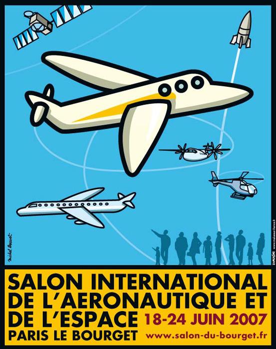 Helico passion le bourget 2007 introduction for Salon aeronautique