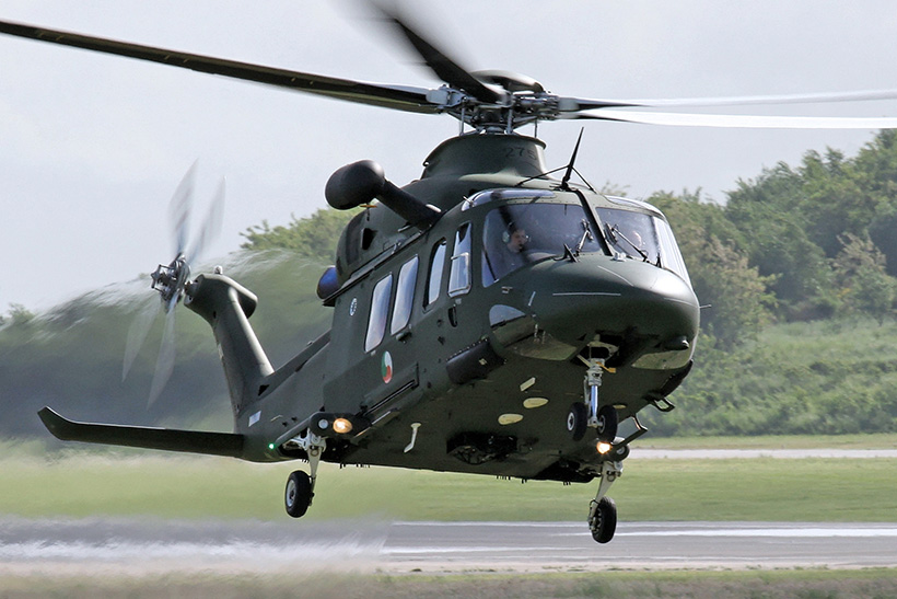 Irish Air Corps AW139 helicopter