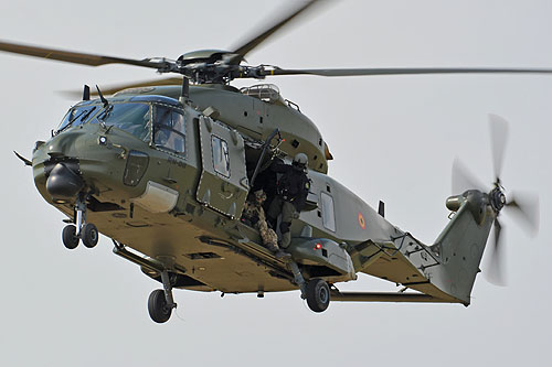 Hélicoptère NH90 MTH belge