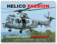 Calendrier 2015 HELICO PASSION