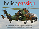 Calendrier 2016 HELICO PASSION