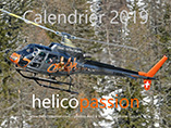 Calendrier 2019 HELICO PASSION