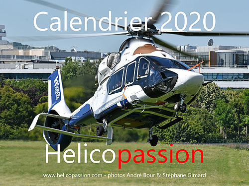 Calendrier 2020 HELICO PASSION
