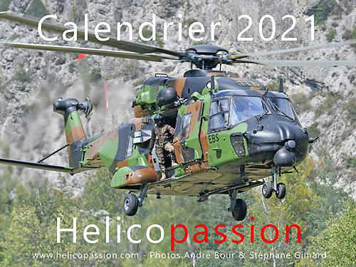 Calendrier 2021 HELICO PASSION