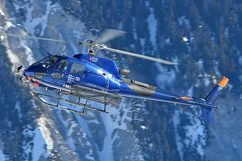 Hélicoptère H125 / AS350 B3 Ecureuil I-MOJO de GMH HELICOPTER SERVICES