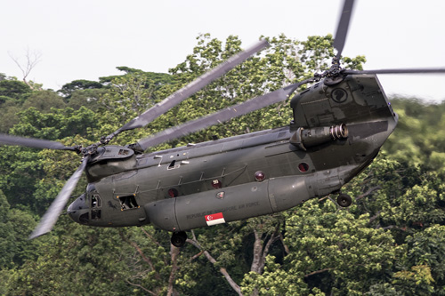 CH47 Chinook Singapour