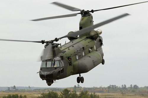 Hélicoptère CH147F Chinook Canada