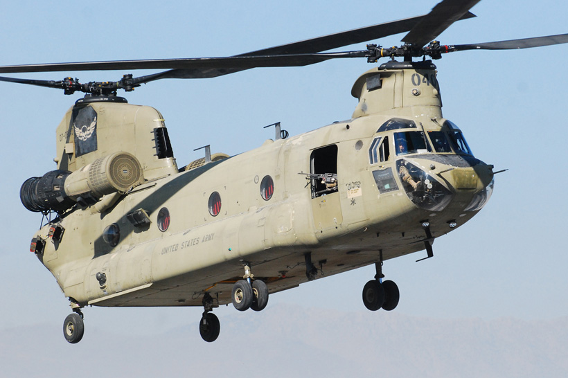 CH47F Chinook US Army