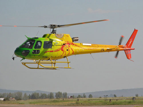 Hélicoptère AS350 Ecureuil ECOCOPTER