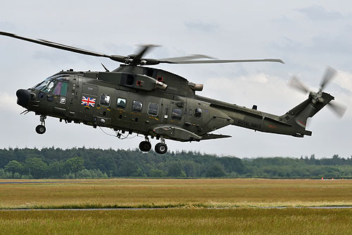 Hélicoptère AW101 Merlin UK