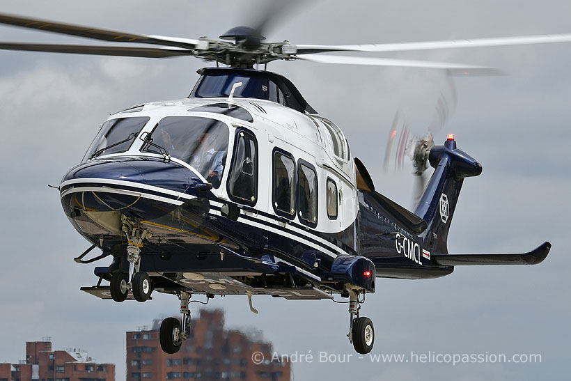 Hélicoptère AW169 G-CMCL