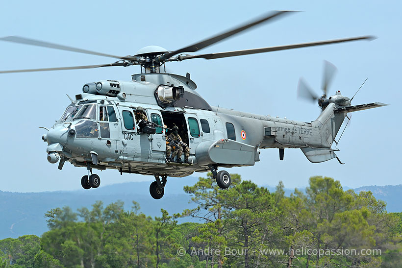 French Army Aviation (ALAT) EC725 Caracal helicopter