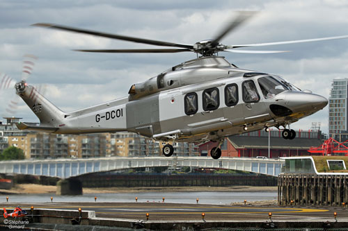 Hélicoptère AW139 G-DCOI Profred Partners LLP (Dyson)