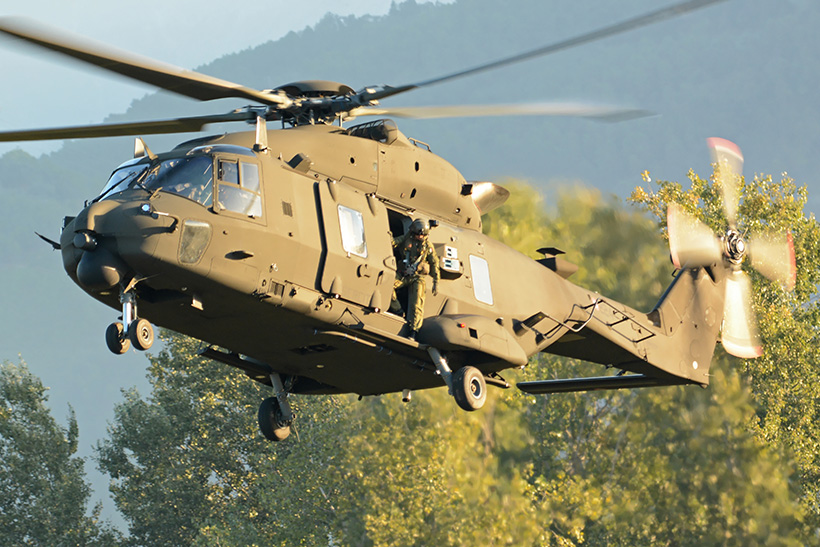 Italian Army NH90 helicopter