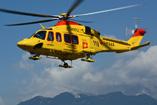 Hélicoptère de secours AW139 I-PAAA Pegaso 3 d'INAER