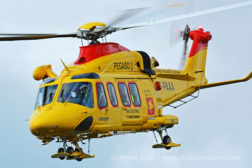 Italian AW139 HEMS helicopter