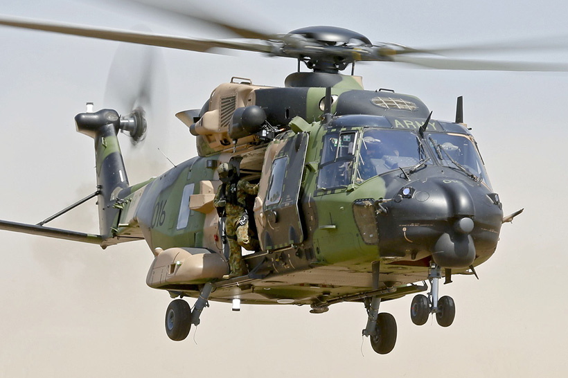 MRH90 Taipan helicopter of the Army of Australia