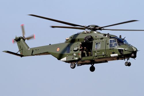 Hélicoptère NH90 TTH de l'Armée de Terre belge