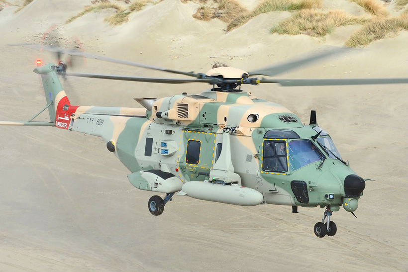 NH90 helicopter of the Army of Oman