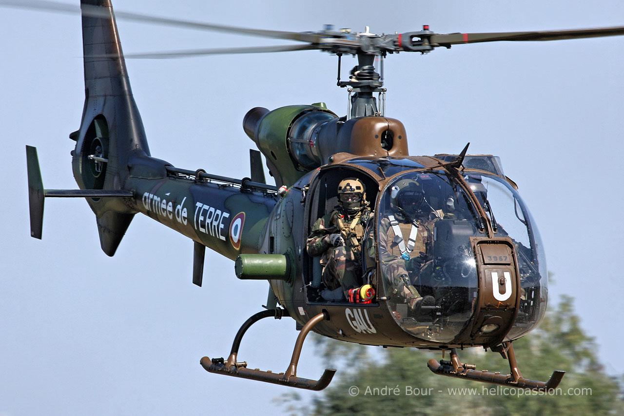 Hélicoptère SA342 Gazelle ALAT