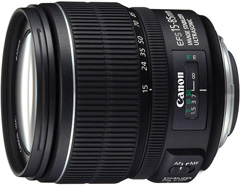 Objectif photo CANON EFS 15-85