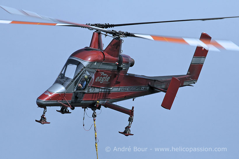 Swiss Eagle Helicopter Kaman K1200 KMAX helicopter
