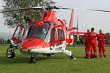 Hélicoptère AW109 REGA