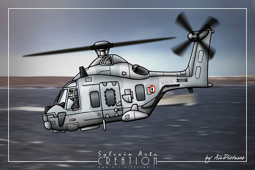 Hélicoptère NH90 Marine Nationale