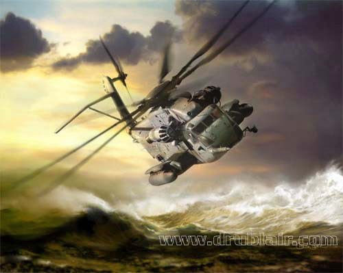 CH53E SuperStallion des US Marines