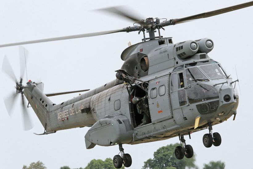 Hélicoptère SA330 Puma de l'Armée de l'Air