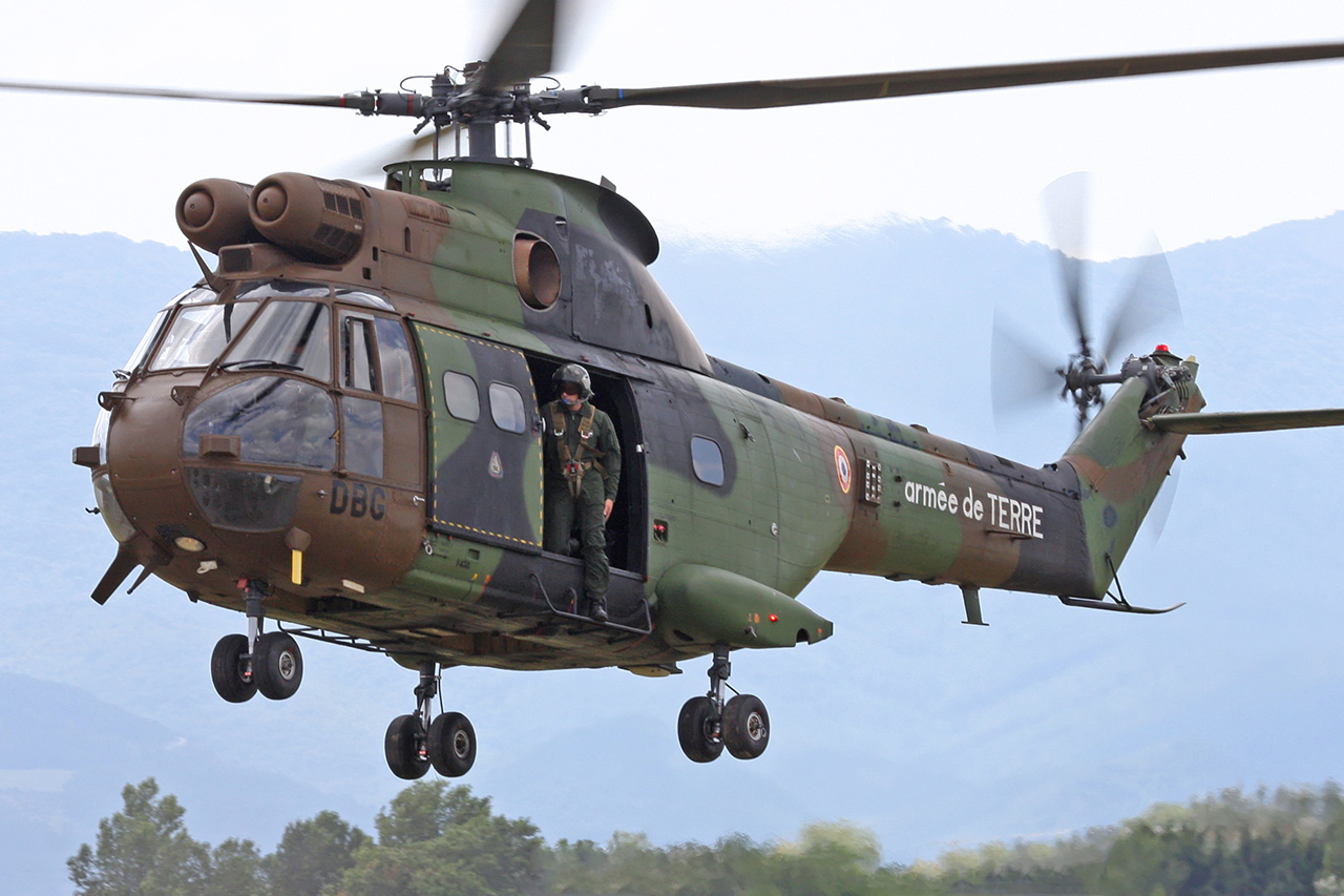 helicoptere puma