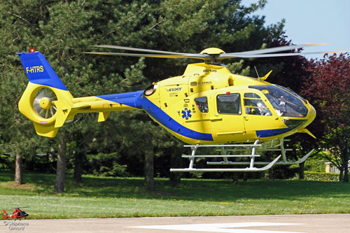 Hélicoptère EC135 F-HTRS