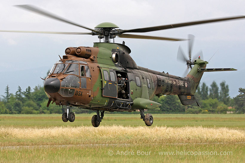 French Army Aviation (ALAT) AS532 Cougar helicopter