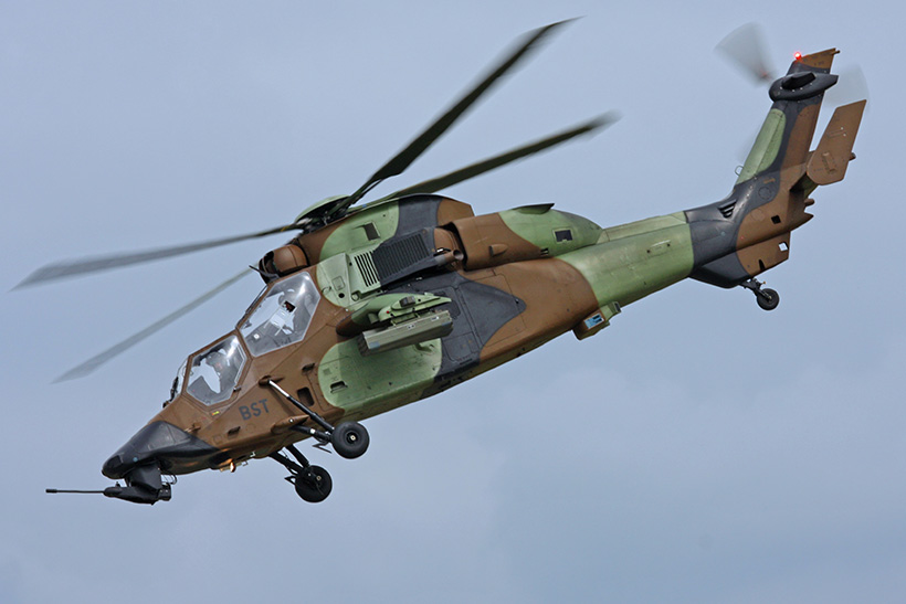 French Army Aviation (ALAT) EC665 Tiger attack helicopter