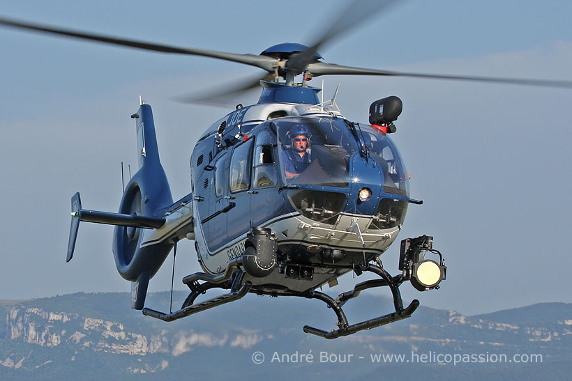 French Police EC135 helicopter