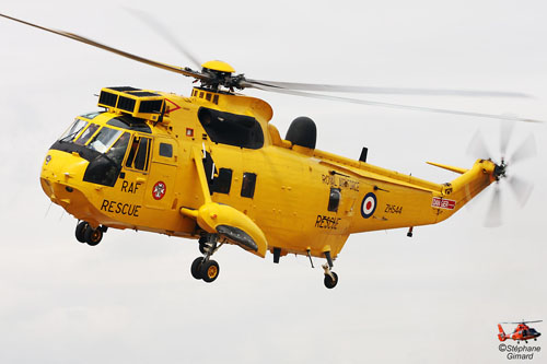 Hélicoptère Seaking de la RAF (Royal Air Force)
