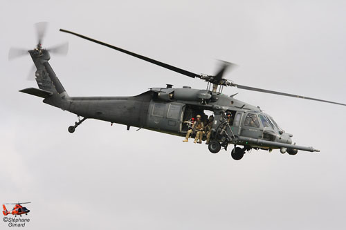 Helicoptère HH60 PaveHawk USAF