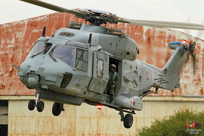 French Navy NH90 NFH helicopter