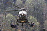 H�licopt�re EC635 de l'Arm�e suisse