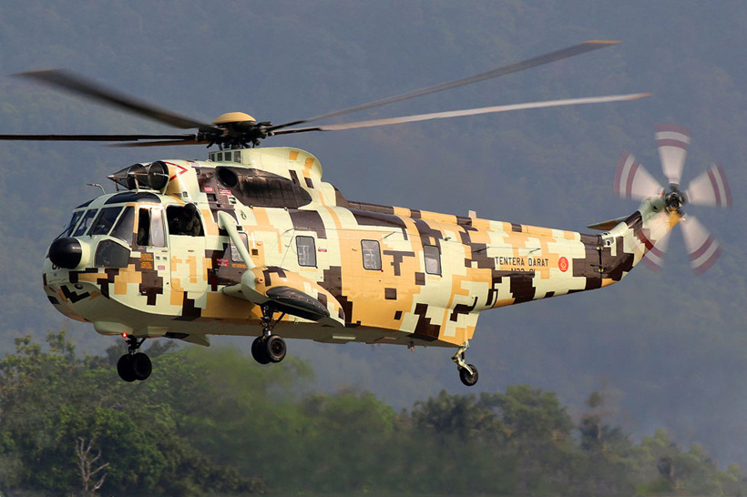 S61 Nuri helicopter of the Navy of Malaysia