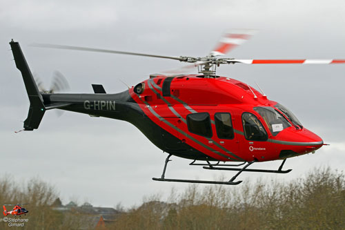 Hélicoptère BELL 429 G-HPIN