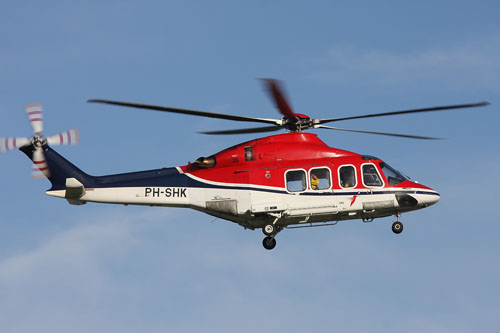 Hélicoptère AW139 de Canadian Helicopter Corporation (CHC)