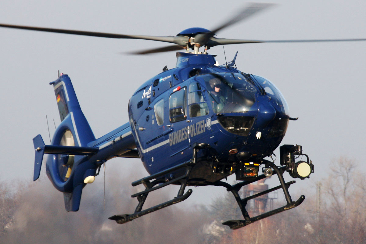 Helico passion h licopt res de la police allemande for Helicoptere interieur