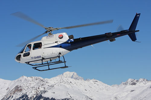 Hélicoptère Eurocopter AS350 Ecureuil de JET SYSTEMS HELICOPTERES SERVICE