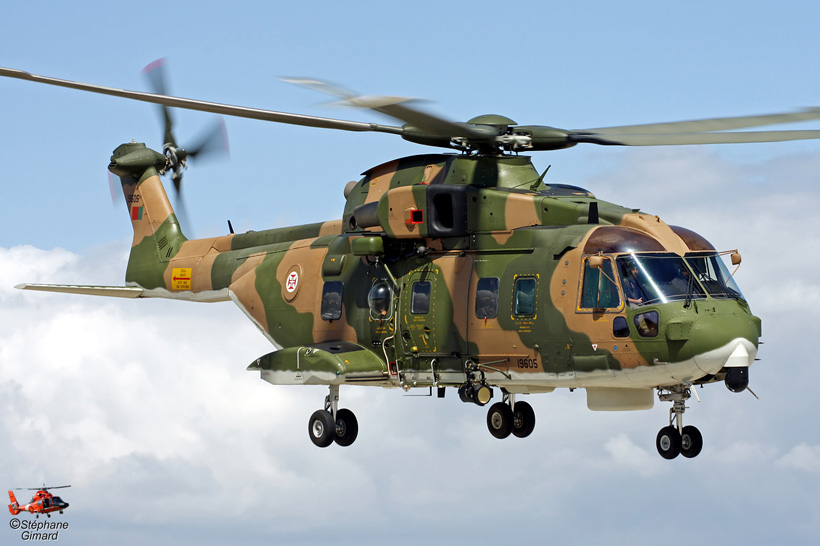 Portuguese Air Force EH101 helicopter