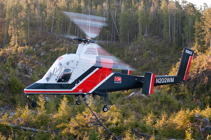 Canadian Kaman K1200 KMax helicopter